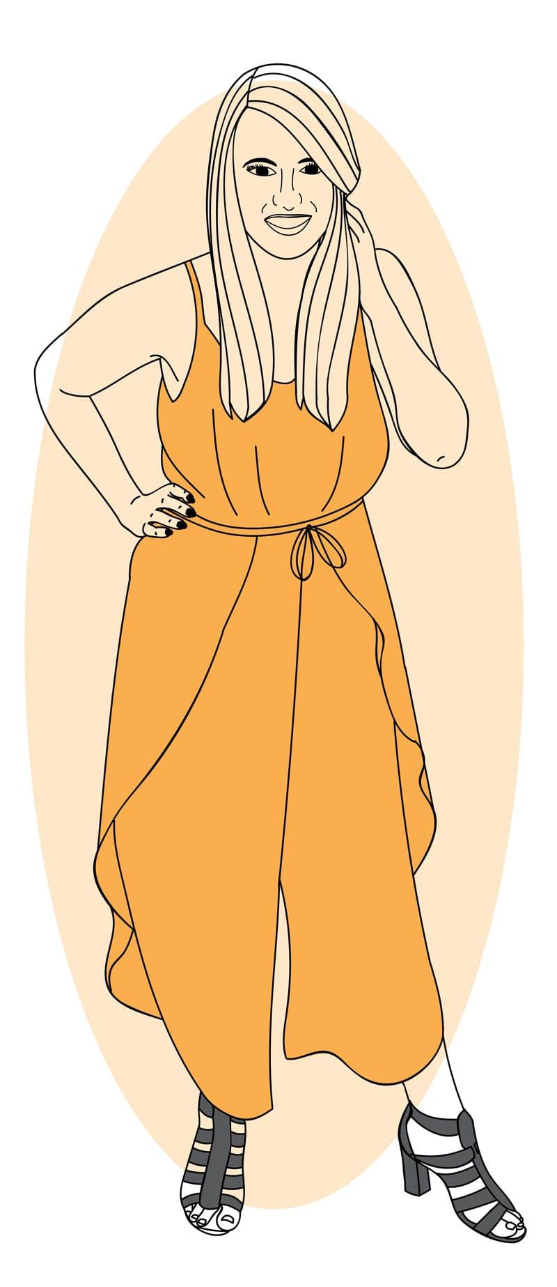 K9 Digital Marketing Team Member Cartoon - Meg